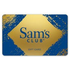 Sam's Club Gold Gift Card - Various Amounts