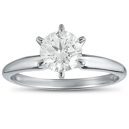 0.95 CT. T.W. Diamond Solitaire Ring (I-SI2)
