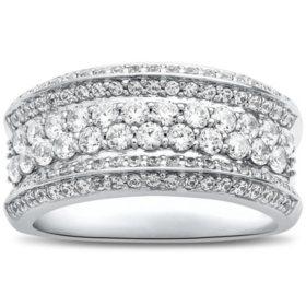 1.25 CT. T.W. 14K White Gold Fashion Ring I,I1