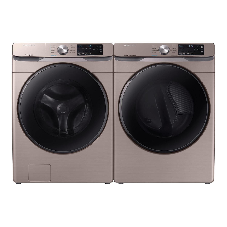 SAMSUNG WF45R6100AC 4.5 cu. ft. Front Load Washer + Samsung DVG45R6100C 7.5 cu. ft. Dryer