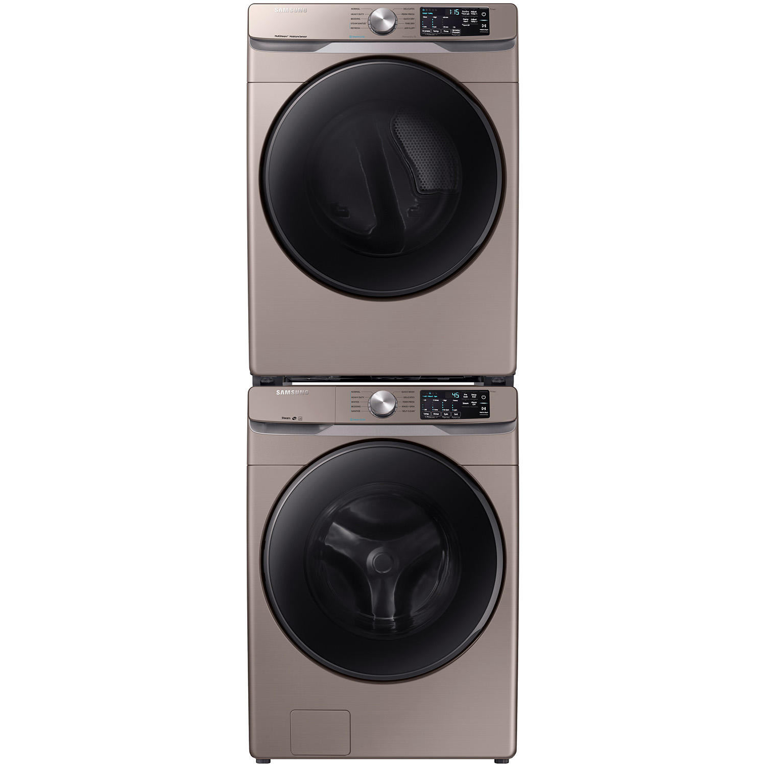 Samsung Stackable Laundry Pair in Champagne