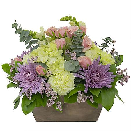 Glamour Floral Centerpiece Arrangement (24 stems)