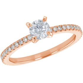 S Collection Bridal 0.75 CT. T.W. Diamond Ring in 14K Gold (I1, H-I)