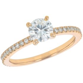 S Collection Bridal 1 CT. T.W. Diamond Ring In 14K Gold (I1, H-I)