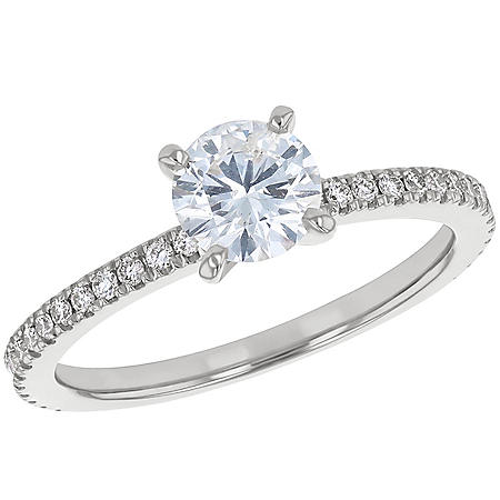 S Collection Bridal 1 CT. T.W. Diamond Ring In 14K Gold (SI2, H-I)