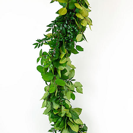 Western Greens Garland (Choose 15 or 25 feet)