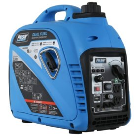 Pulsar 2,000/2,200-Watt Dual Fuel Gasoline/Propane Powered Inverter Generator (CARB Compliant)