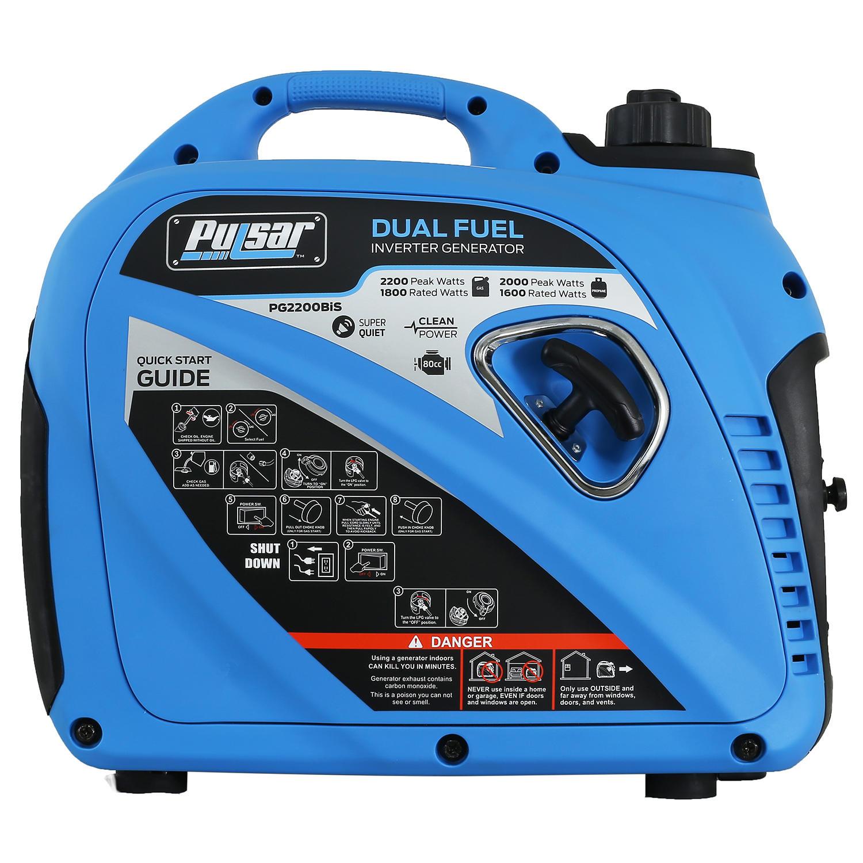 Pulsar 2200 Watt Gas Propane Inverter Generator