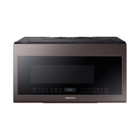 SAMSUNG - 2.1 cu. ft. Over The Range Microwave with Sensor Cooking, Tuscan Stainless - ME21R706BAT