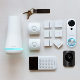SimpliSafe Home Security Kit + SimpliCam and Doorbell Bundle