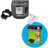 Premier Pet Wireless Fence With Up To 1/2 Acre Circular Boundary + Add-a-Dog Collar