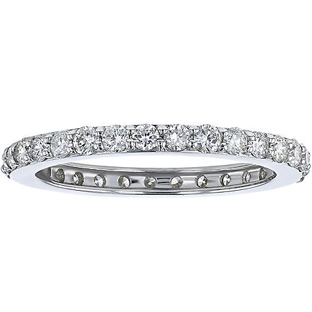 S Collection 1 CT. TW Diamond Eternity Band in 14K Gold