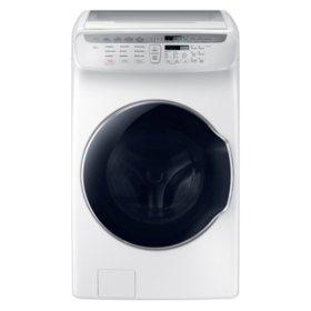 Samsung 4.5 cu. ft. + 1.0 cu. ft. Flex Washer with Steam