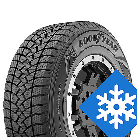 Goodyear WinterCommand - LT245/75R16/E 120Q Tire