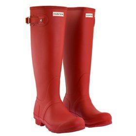 Hunter Women's Tall Matte Rain Boots