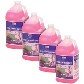 Member's Mark Commercial Pink Lotion Dish Detergent Bundle (4 gallons total)
