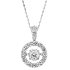 0.45 CT. T.W. Diamond Pendant in 14k Gold