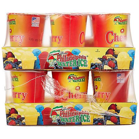 Philadelphia Water Ice Cups, Cherry (8 fl. oz. ea., 12 ct.)