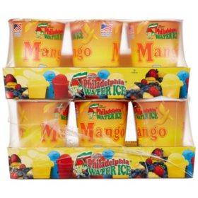 Philadelphia Water Ice Cups, Mango (8 fl. oz. ea., 12 ct.)