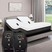 American Sleep Collection California King Smart Bed with Adjustable Dual Air and Power Base