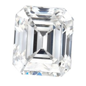 Premier Diamond Collection 1.25 CT. Emerald Cut Diamond - GIA (I, VS2)
