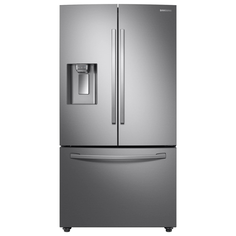 SAMSUNG RF28R6201SR 3-Door French Door Refrigerator with CoolSelect Pantry