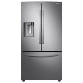 SAMSUNG - 3-Door French Door Refrigerator with CoolSelect Pantry™ in Stainless Steel - RF28R6201SR