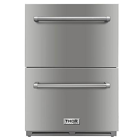 """Thor Kitchen 24"""" Under-Counter Refrigerator Drawer"""