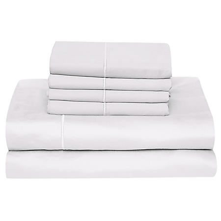 Hotel Luxury Reserve Collection 1000-Thread-Count Egyptian Cotton Sheet Set (Assorted Sizes and Colors)