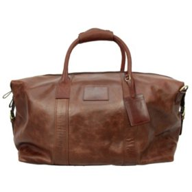 Buffalo Leather Duffle, Choose a Color