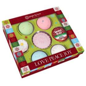 Ginger Lily Farms Love Peace Joy Bath Gift Set (7 ct.)