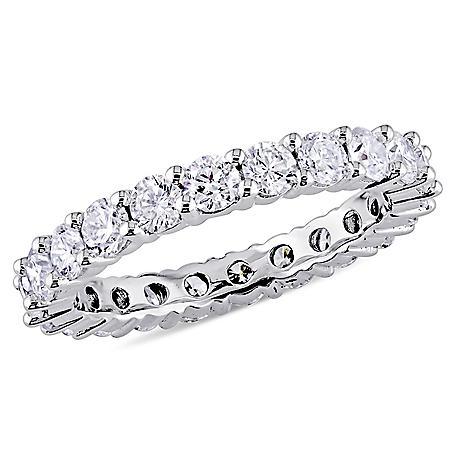 Allura 1.95 CT. T.W. Diamond Eternity Anniversary Ring in 14K White Gold