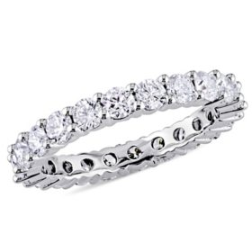 Allura 1.95 CT. T.W. Diamond Eternity Anniversary Ring in 14K White Gold
