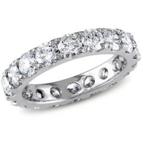 Allura 2.95 CT. T.W. Diamond Eternity Anniversary Ring in 14k White Gold