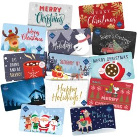 Sam's Club Holiday Gift Card (Various Styles)