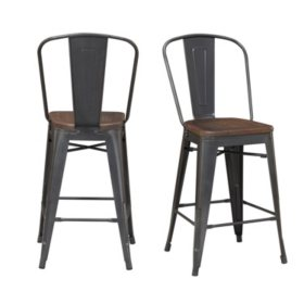 Society Den Logan Bar Stool Set
