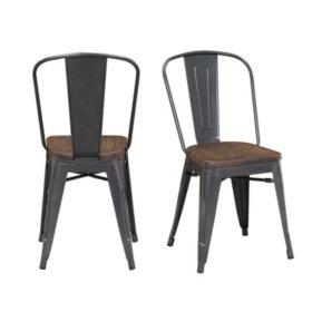 Society Den Davis Metal Chair Set