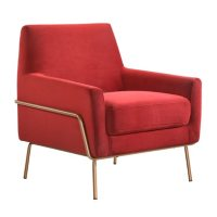 Society Den Kent Modern Accent Arm Chair, Various Colors