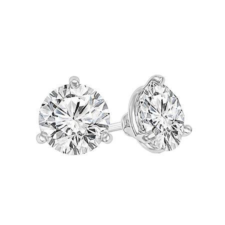 1.00 CT. T.W. Diamond Martini-Set Stud Earrings in 14K Gold