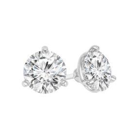 1.50 CT. T.W. Diamond Martini-Set Stud Earrings in 14K Gold