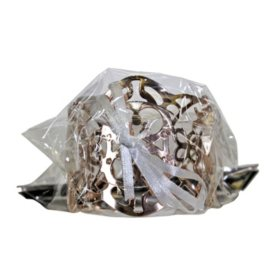 Atlantic Filigree Cuff Corsage Wristlet, Rose Gold