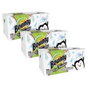 Bounty Paper Napkins, Fun Print (220 ct.)