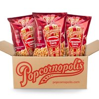 Popcornopolis Caramel Popcorn (3 - 22 oz. bags)