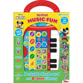 Mickey Mouse Clubhouse: Portable Keyboard and 8-Book Library