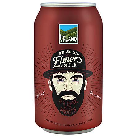 Upland Brewing Bad Elmer's Porter (12 fl. oz. can, 6 pk.)