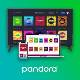 Pandora Music Streaming Subscription