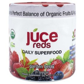 JUCE Reds Daily Superfood, Garden Berry (8.01 oz., 2 pk.)