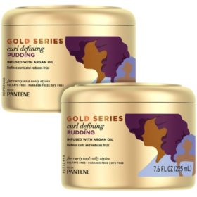 Pantene Pro-V Gold Series Curl Defining Pudding (7.6 fl., oz. 2pk.)