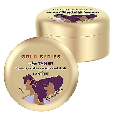 Pantene Gold Series Edge Tamer Infused with Argan Oil  (2.6 oz., 2 pk.)