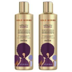 Pantene Gold Series Sulfate-Free Shampoo (8.5 fl., oz, 2 pk.)